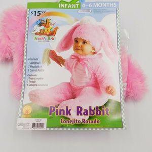 Pink Rabbit Infant 0 – 6 Months Costume
